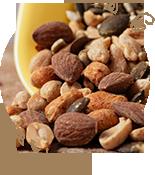 生のナッツ・種子