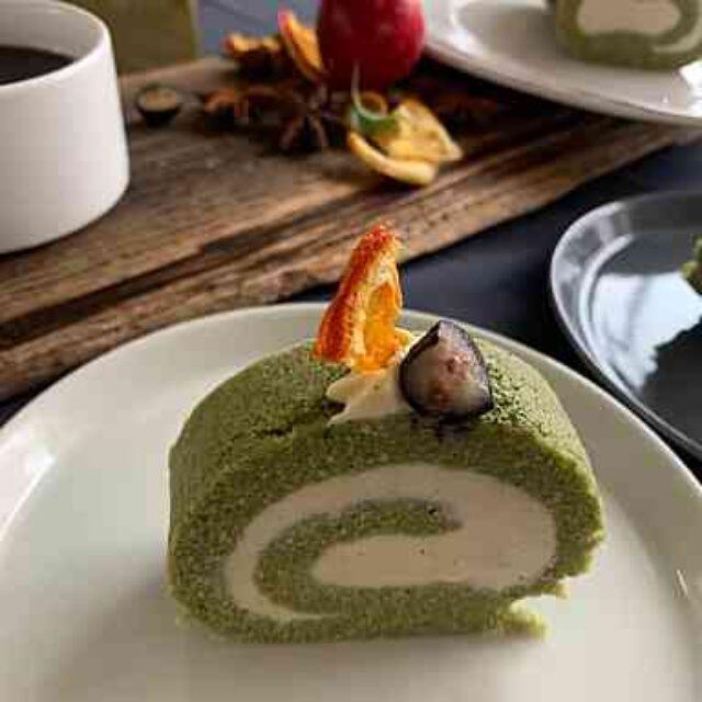 抹茶ロールケーキ(P受講生)